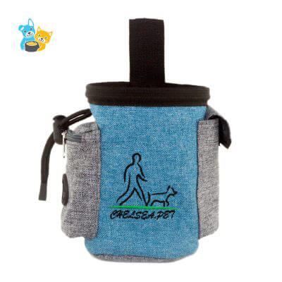 training bag Pouch with poop bag dispenser